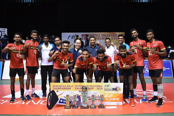 Mercantile Volleyball Super League Champions